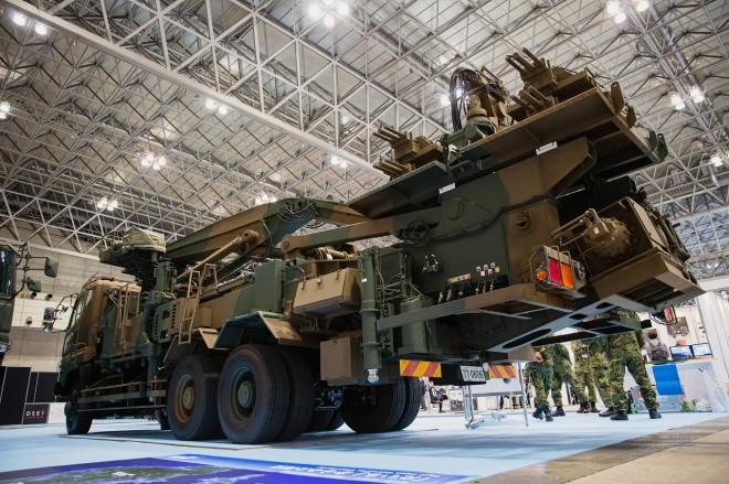 総合武器見本市『DSEI Japan 2019』より(写真提供:クライシスインテリジェンス)