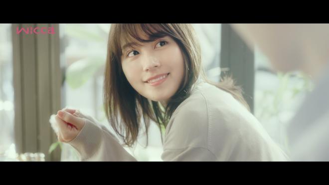 有村架純出演のwicca(ウィッカ)Web動画「香りの記憶」より