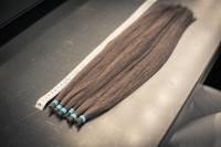 寄付された髪の毛