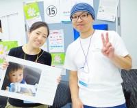 『がんフォト*がんストーリー』を主催する木口マリ氏(左)