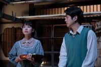 連続テレビ小説『スカーレット』第4週より。喜美子(戸田恵梨香)は圭介(溝端淳平)の恋に協力しようとするが…(C)NHK