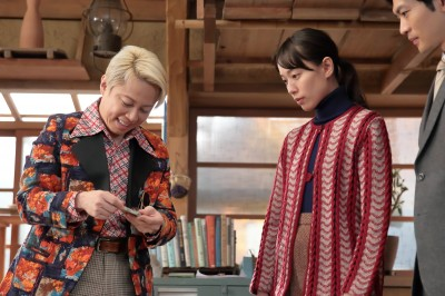 NHK連続テレビ小説『スカーレット』でヒロイン・喜美子(戸田恵梨香)に影響を与える世界的芸術家・ジョージ富士川を演じた西川貴教(C)NHK