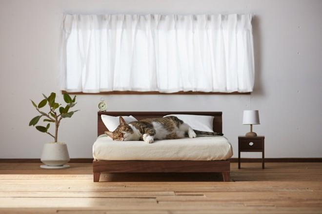 立野木材工芸『Raffine Bed for cat』