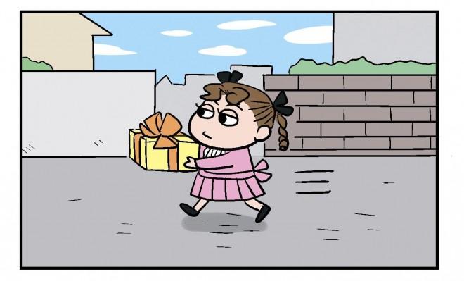 Twitterで人気のツンデレな友だち「ひみこちゃん」登場話 3/4ページ