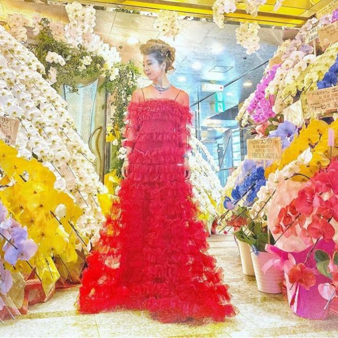 昨年11月末に3日間かけて行われた引退式。店にはあふれるほど花が届いたという