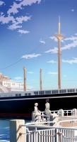 絵師・ニツリが小説とイラストを手掛けた『横濱SIKTH —けれども世界、お前は終わらない—』(LINEノベル)