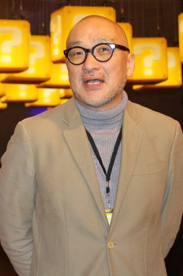 『SUPER NINTENDO WORLD』プロジェクトリーダーでもある山本歩氏(C)oricon ME inc.