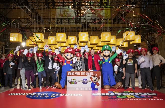 19日、ニューヨークで開催された『SUPER NINTENDO WORLD』イベント 画像提供:ユニバーサル・スタジオ・ジャパン