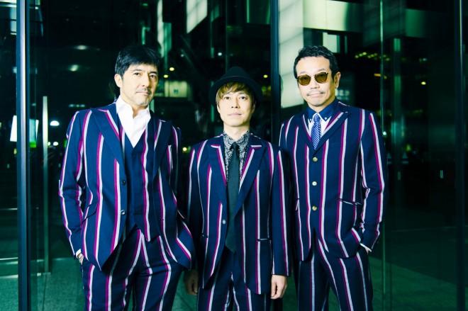 東京スカパラダイスオーケストラ(左から谷中敦、NARGO、川上つよし)