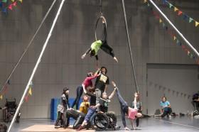 障害のある人との舞台制作の裏側を公開したOPEN CREATION & TALK SESSION in SHIBUYA(2019年)/photo by Ayami Kawashima