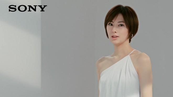 北川景子出演のソニー4Kテレビ『ブラビア』新CMより