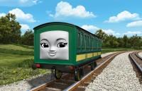 中国の鉄道で働く女の子の客車「アンアン」。男の子のインロンと双子