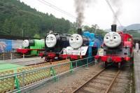 静岡県・大井川鐵道で運行しているトーマスとなかまたち(今年の運行は現時点で運休)