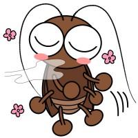 【デフォルメ】いい匂いに誘われるゴキブリ