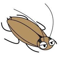 【デフォルメ】チャバネゴキブリ(斜め)