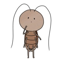 【ゆるふわ】ゆるふわゴキブリ(1)