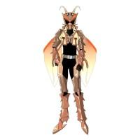 【擬人化】特撮ヒーローになったオスゴキブリ(立ち絵・仮面あり)