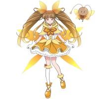 【擬人化】魔法少女になったメスゴキブリ(立ち絵)