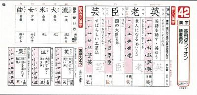 平成3年度〜4年度版くりかえし漢字ドリル(新学社)