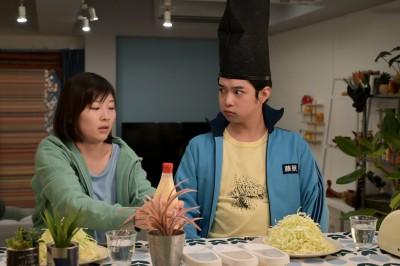 ふっくら下膨れほっぺが烏帽子によく似合う千葉雄大(C)NHK