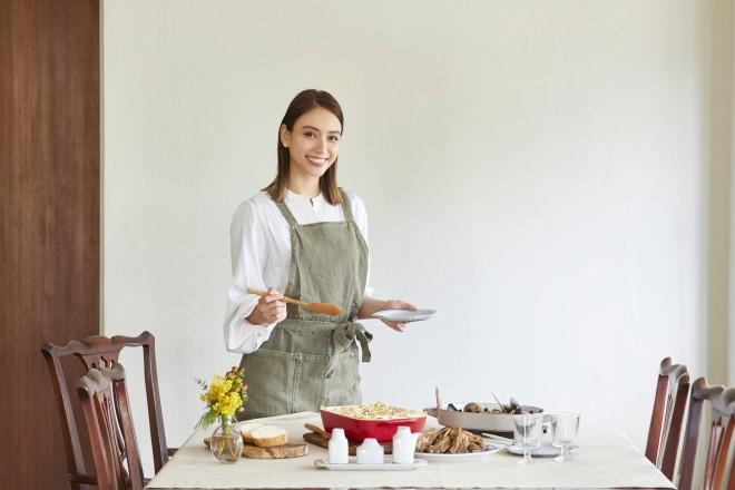 料理の時間は子どもに戻ったような気持ちになれるという滝沢カレン