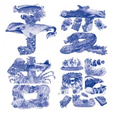 京都水族館のポスター「変態予告」