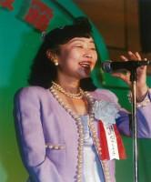 元谷芙美子社長(1994年ホテル就任時)