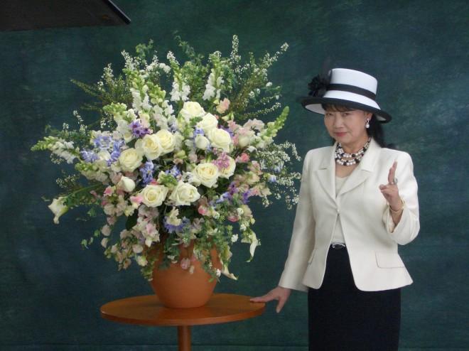 元谷芙美子社長(2005年TVCM用写真)