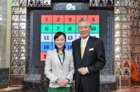 初代司会者・故児玉清さん(右)と加藤明子アナ(左)