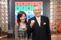 初代司会者・故児玉清さん(右)と加藤アナの前任の出題者・沢木美佳子(左)