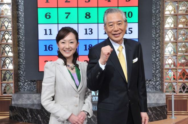 初代司会者・故児玉清さん(右)と加藤明子アナ(左) 画像提供/朝日放送テレビ