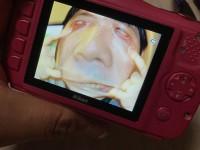 娘さんがお気に入りのパパのヘン顔ショット(画像提供:PHOTO LENSさん @photo_lens_com)