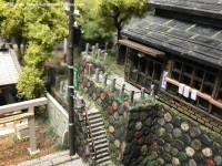 温泉宿の階段
