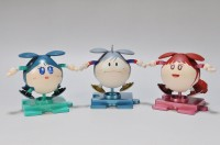 (左から)カミーユハロ、カイハロ、ミハルハロ 制作・画像提供:さのすけ(C)創通・サンライズ