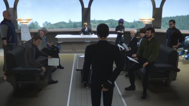 『攻殻機動隊 SAC_2045』場面カット