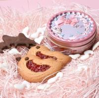 フランス菓子TamaMille(千葉県八千代市)『symphonie サンフォニー』(クッキーとバラの砂糖菓子)