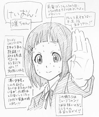 『けいおん!』平沢唯