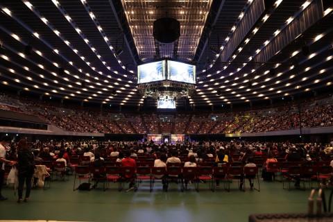 厳重なコロナ対策のもと開催された新日本プロレスの試合