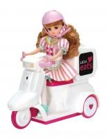 『リカちゃんイーツ おとどけスクーター』※人形、ドレス別売り(税抜5300円)