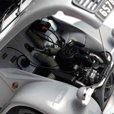 エンジンも丁寧に表現されている 制作・画像提供/Sho_taro氏