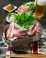 『豚肉のはりはり鍋』