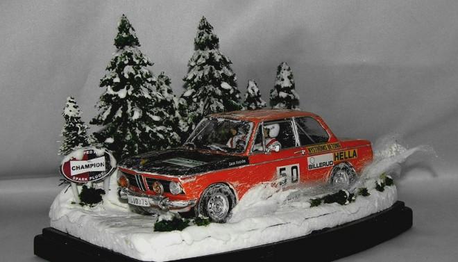 ハセガワ1/24 BMW 2002 1971スウェーデンラリー