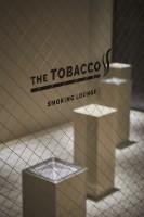 新たな喫煙所『THE TOBACCO』の様子