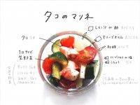 「ズッキーニと玉ねぎのカレーマリネ」『#おえかきレシピ』(@__mo_chi)より