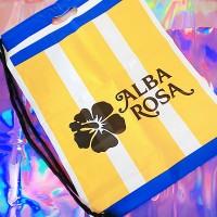 『ALBA ROSA』のショップバック
