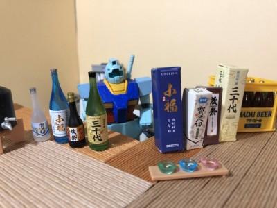 是非飲み比べにいらしてください 1/1 制作・画像提供/石澤ぐり氏 (C)創通・サンライズ