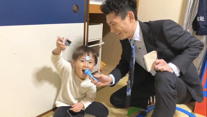 息子・ゆうしくんとの笑いが絶えない日常にSNSで大きな反響が寄せられている