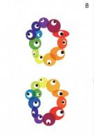 ロゴマークとしての印象を洗練させるため、マークの配色をさまざまに追及