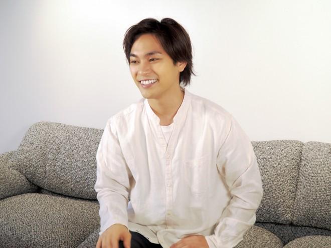 ORICON NEWSのインタビューに応じる柳楽優弥(C)ORICON NewS inc.