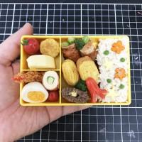 お弁当(小麦粘土)